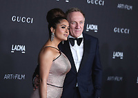 LOS ANGELES - NOVEMBER 2:  Salma Hayek Pinault and François-Henri Pinault at the 2019 LACMA Art + Film Gala Presented By Gucci at LACMA on November 2, 2019 in Los Angeles, California. (Photo by PictureGroup)