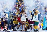 Rio de Janeiro (RJ), 07/07/2019 - Copa América / Final / Brasil x Peru -  Anitta, cantora durante cerimônia de encerramento da Copa América antes da partida entre Brasil e Peru no Estádio do Maracanã no Rio de Janeiro neste domingo, 07. (Foto: Anderson Lira/Brazil Photo Press)