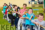 Enjoying the Tug of War Boys V Girls at the NA GAEIL GAA, family fun day on Sunday