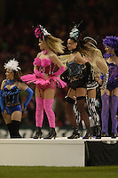 Cardiff, WALES.  Pre game entertainment,  2006 Heineken Cup Final,  Millennium Stadium,  between Biarritz Olympique and Munster,  20.05.2006. © Peter Spurrier/Intersport-images.com,  / Mobile +44 [0] 7973 819 551 / email images@intersport-images.com.   [Mandatory Credit, Peter Spurier/ Intersport Images].14.05.2006   [Mandatory Credit, Peter Spurier/ Intersport Images].
