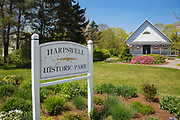 Harpswell Historic Park in Harpswell, Maine USA.