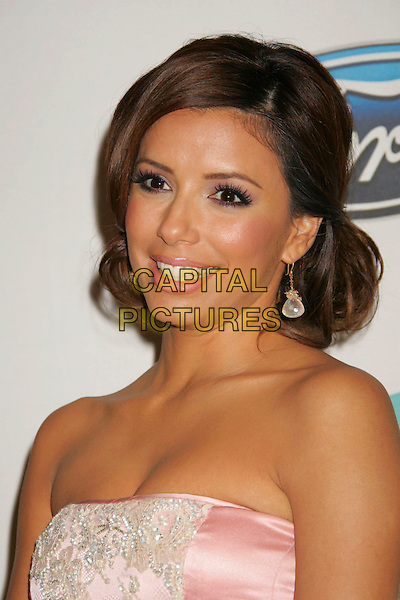 EVA LONGORIA.Press conference for the 2006 American Latino Media Arts Awards held at the Peninsula Hotel, Beverly Hills, California, USA, 04 April 2006..portrait headshot pink strapless satin lace dress .Ref: ADM/RE.www.capitalpictures.com.sales@capitalpictures.com.©Russ Elliot/AdMedia/Capital Pictures.
