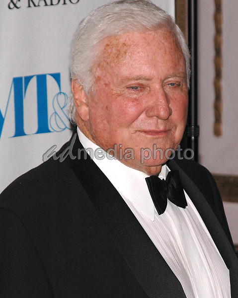 26 May 2005 - New York, New York - Merv Griffin arrives at The Museum of Television and Radio's Annual Gala where he is being honored for his award winning career in radio and television.<br />