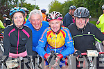 Tracy O'Flaherty Ardfert, Mike Barry Crotta, Mike O'Callaghan Tralee and Tom Guerin Abbeydourney who participated in the Ring of Kerry cycle on Saturday ..
