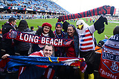 February 2nd 2019, San Jose, California, USA; USA supporters before the international friendly match between USA and Costa Rica at Avaya Stadium on February 2, 2019 in San Jose CA.