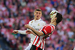 Football match during La Liga between the teams Athletic Club &. Real Madrid in San Mames Berria Stadium in Bilbao.<br /> Bilbao, 7/03/2015<br /> aduriz in action<br /> PHOTOCALL3000 / DyD