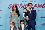"Sergio Ramos and Pilar Rubio attends to ""El Corazon De Sergio Ramos"" premiere at Reina Sofia Museum in Madrid, Spain. September 10, 2019. (ALTERPHOTOS/A. Perez Meca)"
