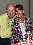 Peadar Rafferty and Catriona Murray at the Hoolie on the Hill. Photo:Colin Bell/pressphotos.ie