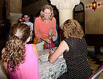 CORAL GABLES, FL - OCTOBER 20: Congresswoman / author Debbie Wasserman Schultz (R) poses with her daughter Shelby Schultz as she speaks and signs copies of her book 'For the Next Generation: A Wake-Up Call to Solving Our Nation's Problems' at Coral Gables Congregational Church hosted by Books & Books on October 20, 2013 in Coral Gables, Florida. (Photo by Johnny Louis/jlnphotography.com)