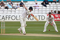 Dan Mousley in batting action for Warwickshire during Essex CCC vs Warwickshire CCC, Specsavers County Championship Division 1 Cricket at The Cloudfm County Ground on 14th July 2019