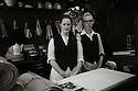 Hastings, UK. 29.09.2012. Shop assistant, Hendy Home Stores, Hastings, UK. Photo credit: Jane Hobson.,