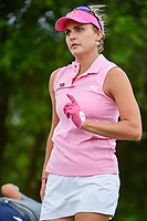 Lexi Thompson (USA) after hitting her tee shot on 8 during round 3 of  the Volunteers of America Texas Shootout Presented by JTBC, at the Las Colinas Country Club in Irving, Texas, USA. 4/29/2017.<br /> Picture: Golffile | Ken Murray<br /> <br /> <br /> All photo usage must carry mandatory copyright credit (&copy; Golffile | Ken Murray)