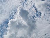 Cirrocumulus clouds over the Arnside, Lancashire, UK.