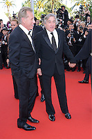 "Robert De Niro and  James Woods attending the ""Madagascar III"" Premiere during the 65th annual International Cannes Film Festival in Cannes, France, 18.05.2012..Credit: Timm/face to face/MediaPunch Inc. ***FOR USA ONLY***"