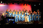 The Augustinian Gospel Choir performing at the Barbican Centre. Photo:Colin Bell/pressphotos.ie