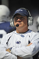 18 September 2010:  Penn State defensive coordinator Tom Bradley..The Penn State Nittany Lions defeated the Kent State Golden Flashes at Beaver Stadium in State College, PA..