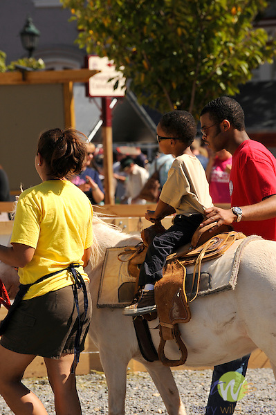 32nd Annual Selinsgrove Market Street Festival. Pony ride.