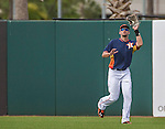 12 March 2014: Houston Astros outfielder J.D. Martinez gets a fly ball out during a Spring Training game against the Washington Nationals at Osceola County Stadium in Kissimmee, Florida. The Astros rallied in the bottom of the 9th to edge out the Nationals 10-9 in Grapefruit League play. Mandatory Credit: Ed Wolfstein Photo *** RAW (NEF) Image File Available ***