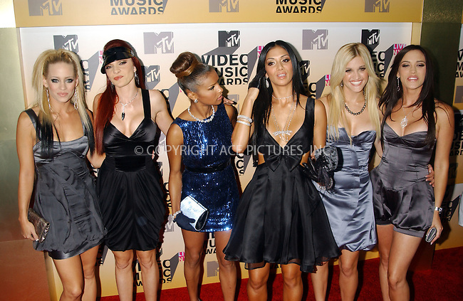 WWW.ACEPIXS.COM . . . . . ....New York City, August 31 2006......PUSSYCAT DOLLS....Red Carpet arrivals for the 2006 MTV Video Music awards 2006 at the Radio City Music Hall.....Please byline: KRISTIN CALLAHAN - ACEPIXS.COM.. . . . . . ..Ace Pictures, Inc:  ..(212) 243-8787 or (646) 679 0430..e-mail: picturedesk@acepixs.com..web: http://www.acepixs.com
