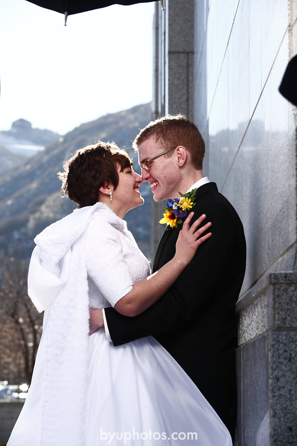 JSW 1711 Anderson Wedding 647<br /> <br /> JSW 1711 Anderson Wedding<br /> <br /> Derek and Becky Anderson - Draper Temple<br /> <br /> December 28, 2017<br /> <br /> Jaren Wilkey/BYU<br /> <br /> &copy; BYU PHOTO 2017<br /> All Rights Reserved<br /> photo@byu.edu  (801)422-7322