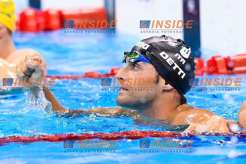 DETTI Gabriele ITA <br /> Bronze Medal Men's 400m Freestyle <br /> Rio de Janeiro 06-08-2016 Olympic Aquatics Stadium <br /> Swimming Nuoto <br /> Foto Andrea Staccioli/Deepbluemedia/Insidefoto
