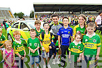Aidan O'Mahony with young fans at Kerry GAA family day at Fitzgerald Stadium on Saturday.