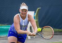 Den Bosch, Netherlands, 13 June, 2017, Tennis, Ricoh Open, Women's doubles: Kelly Versteeg (NED) <br /> Photo: Henk Koster/tennisimages.com