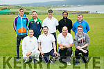 Cricket: Kerry County Council Team at Kerry Cricket Club Spa Tralee on Monday. Pictured front l-r Ian Brick, David Brick, Mike Sealy, Brandon Boyle Back l-r Jordan Brick, Brian Hare, Kevin Boyle, Khuram Iqbal, Sean Rutland