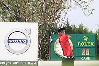 Micah Lauren Shin (USA) in action during the final round of the Volvo China Open played at Topwin Golf and Country Club, Huairou, Beijing, China 26-29 April 2018.<br /> 29/04/2018.<br /> Picture: Golffile | Phil Inglis<br /> <br /> <br /> All photo usage must carry mandatory copyright credit (&copy; Golffile | Phil Inglis)