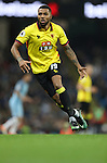 Jerome Sinclair of Watford during the English Premier League match at The Etihad Stadium, Manchester. Picture date: December 12th, 2016. Photo credit should read: Lynne Cameron/Sportimage