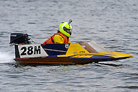 Rookie Mary Allen in her first race. (hydro)