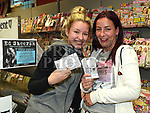 Kelly and Jenny Andrews with their Ed Sheeran tickets at Jojo's Newsagent West street. Photo:Colin Bell/pressphotos.ie