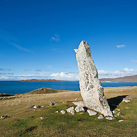 Macleod's Stone, near Horgabost, Isle of Harris, Outer Hebrides, Scotland