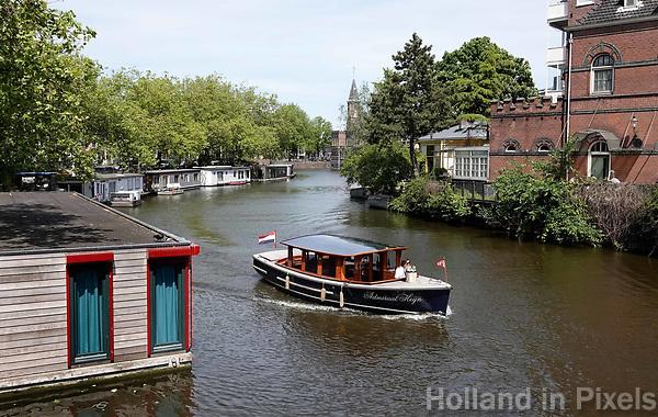 Nederland  Amsterdam - 2019.  Salonboot Admiraal Heijn. Foto Berlinda van Dam / Hollandse Hoogte