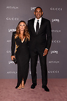LOS ANGELES, CA - NOVEMBER 04: Grant Hill, Tamia Hill at the 2017 LACMA Art + Film Gala Honoring Mark Bradford And George Lucas at LACMA on November 4, 2017 in Los Angeles, California. Credit: David Edwards/MediaPunch /NortePhoto.com