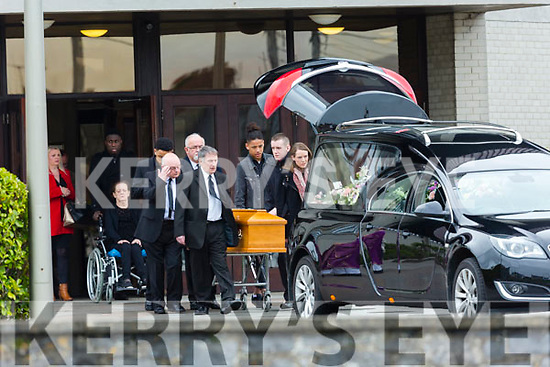 The Funeral Mass of Nicola Collins was held at St.Brendan's Church, Tralee on Tuesday