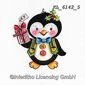 CHRISTMAS ANIMALS, WEIHNACHTEN TIERE, NAVIDAD ANIMALES, paintings+++++,KL6142/5,#xa# ,sticker,stickers