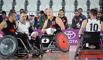 Canada plays USA in wheelchair rugby at the 2019 ParaPan American Games in Lima, Peru-27aug2019-Photo Scott Grant