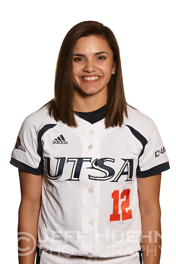 SAN ANTONIO, TX - JANUARY 27, 2015: The University of Texas at San Antonio Roadrunners Softball Team & Individual photos at UTSA Roadrunner Field. (Photo by Jeff Huehn)