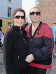 Karen Despard and Elaine Kirwan who took part in the Saint Vincent de Paul sponsored 5Km run. Photo: Colin Bell/pressphotos.ie