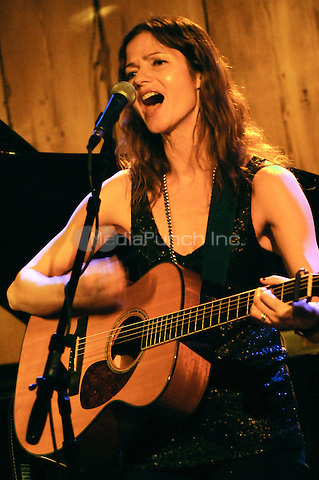 "NEW YORK, NY - JANUARY 27: Actress and singer Jill Hennessy (NBC's ""Law & Order"" & ""Crossing Jordan"") performs at Rockwood Music Hall, New York on January 27, 2014. Hennessy released her first CD ""Ghost In My Head"" in 2009 and is soon to release a new CD ""I Do"" in the Spring of 2014. Photo Credit: RTNdelano/MediaPunch"
