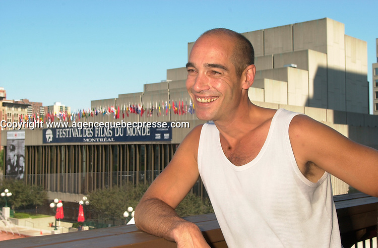 Jean-Marc Barre<br /> at the 2002 World Film Festival -<br /> au Festival des Films du Monde 2002<br /> <br /> photo : (c)  Images Distribution