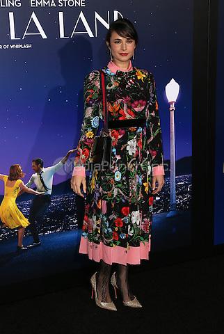 "Westwood, CA - DECEMBER 06: Mia Maestro<br /> , At Premiere Of Lionsgate's ""La La Land"" At Mann Village Theatre, California on December 06, 2016. Credit: Faye Sadou/MediaPunch"
