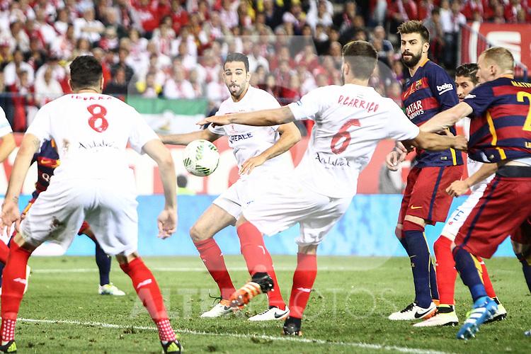 Sevilla CF's  Carriç0 during Spanish Kings Cup Final match. May 22,2016. (ALTERPHOTOS/Rodrigo Jimenez)
