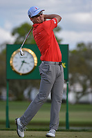 Zach Johnson (USA) watches his tee shot on 14 during round 3 of the Arnold Palmer Invitational at Bay Hill Golf Club, Bay Hill, Florida. 3/9/2019.<br /> Picture: Golffile | Ken Murray<br /> <br /> <br /> All photo usage must carry mandatory copyright credit (© Golffile | Ken Murray)