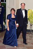 United States Senator Amy Klobuchar (Democrat of Minnesota) and John Bessler arrive for the State Dinner in honor of Prime Minister Trudeau and Mrs. Sophie Gr&eacute;goire Trudeau of Canada at the White House in Washington, DC on Thursday, March 10, 2016.<br /> Credit: Ron Sachs / Pool via CNP