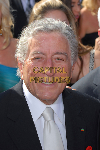 TONY BENNETT.59th Annual Primetime Emmy Awards held at the Shrine Auditorium, Los Angeles, California, USA..September 16th, 2007.headshot portrait .CAP/ADM/CH.©Charles Harris/AdMedia/Capital Pictures.