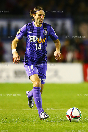 Mikic (Sanfrecce),<br /> DECEMBER 5, 2015 - Football / Soccer : <br /> 2015 J.League Championship Final 2nd leg match<br /> between Sanfrecce Hiroshima - Gamba Osaka<br /> at Hiroshima Big Arch in Hiroshima, Japan.<br /> (Photo by Shingo Ito/AFLO SPORT)