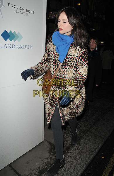 LONDON, ENGLAND - JANUARY 29: Sophie Ellis Bextor attends the &quot;Di and Viv and Rose&quot; press night, Vaudeville Theatre, The Strand, on Thursday January 29, 2015 in London, England, UK. <br /> CAP/CAN<br /> &copy;Can Nguyen/Capital Pictures
