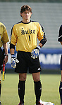Duke's Justin Papadakis on Wednesday, November 9th, 2005 at SAS Stadium in Cary, North Carolina. The Duke University Blue Devils defeated the Virginia Tech Hokies 2-0 during their Atlantic Coast Conference Tournament Quarterfinal game.